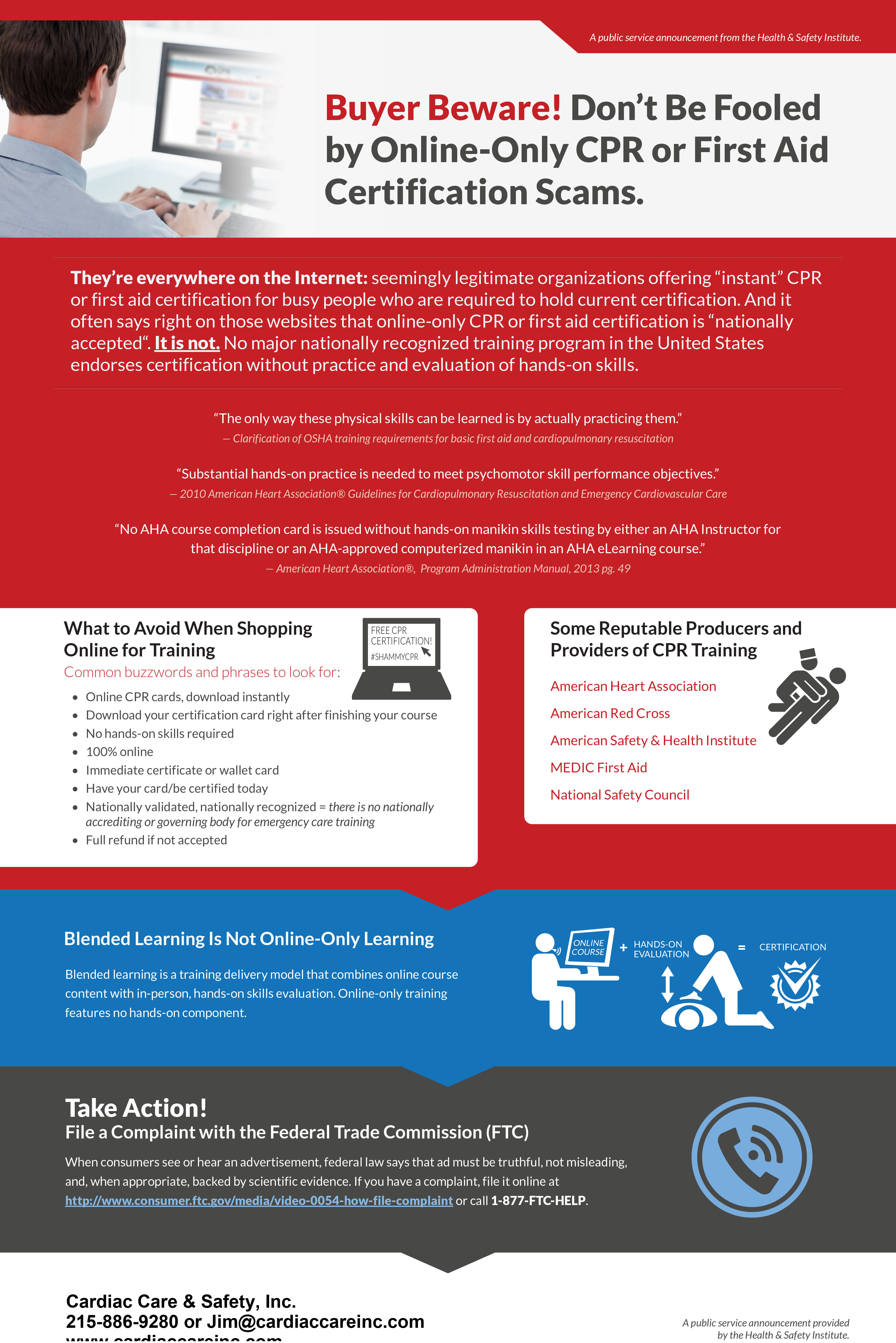 Online Certification Scam