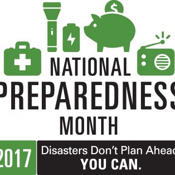 disaster preparedness month 2017